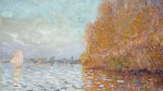 Claude Monet, Argenteuil Basin with a Single Sailboat (1874), via RTE