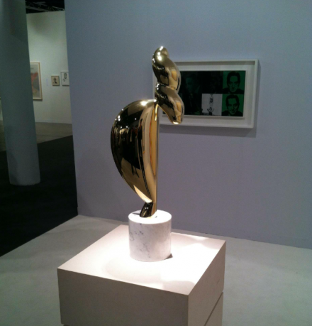 Constantin Brancusi at Paul Kasmin, via Daniel Creahan for Art Observed