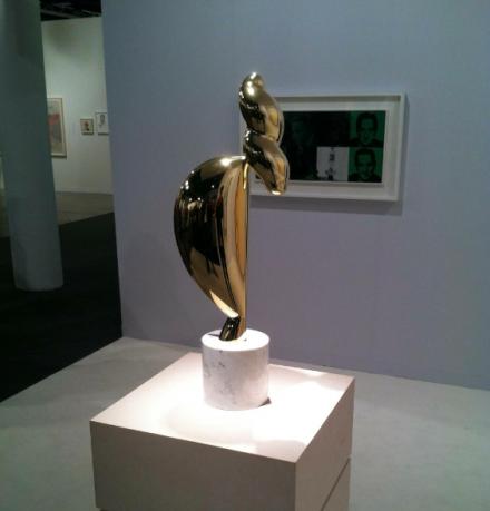 Constantin Brancusi at Paul Kasmin, via Daniel Creahan for Art Observed