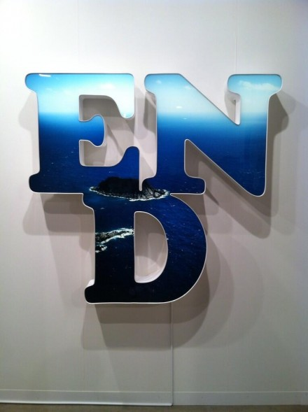 Doug Aitken, END at John Berggruen, via Daniel Creahan for Art Observed