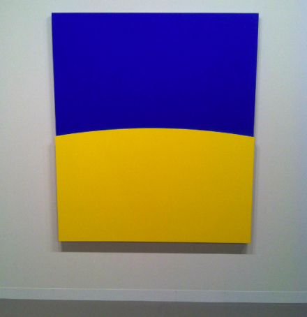 Ellsworth Kelly at Matthew Marks, via Daniel Creahan for Art Observed