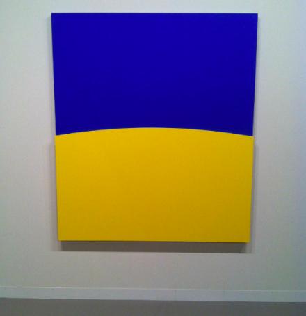 Ellsworth Kelly at Matthew Marks, via Daniel Creahan for Art Observed
