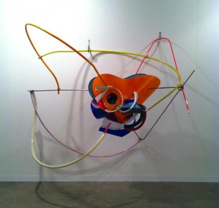 Frank Stella at Peter Freeman,via Daniel Creahan for Art Observed