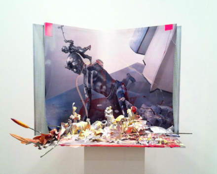 Isa Genzken at Hauser and Wirth, via Daniel Creahan for Art Observed