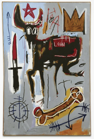 Jean-Michel Basquiat, Loin,1982, Acquavella Galleries, Art Basel Miami Beach 2013