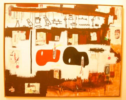 Jean-Michel Basquiat, via Christian Coleman for Art Observed