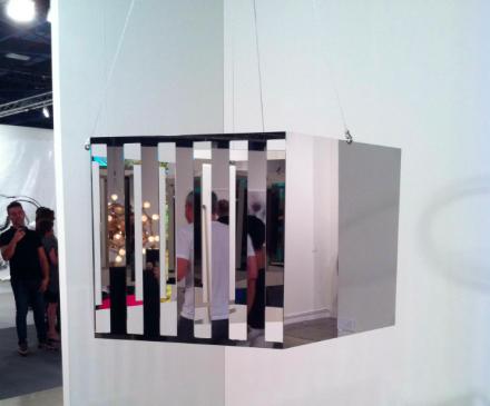 Jeppe Hein at 303 Gallery, via Daniel Creahan for Art Observed
