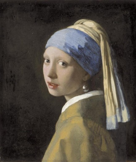 Johannes Vermeer, Girl with a Pearl Earring (1665), Courtesy of The Frick Collection