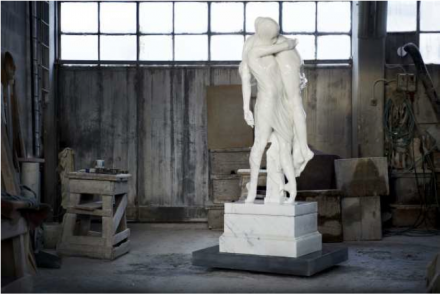 Kevin Francis Gray, Ballerina and Boy (2013), Courtesy Pace London