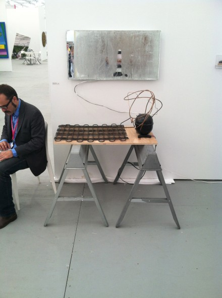 Mathias Kessler at Y Gallery, via Daniel Creahan for Art Observed