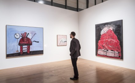 Philip Guston. Late Works, (Installation View) Courtesy Schirn Kunsthalle Frankfurt