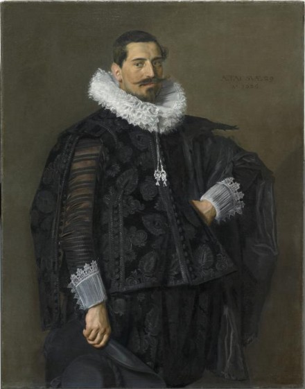 Frans Hals, Portrait of Jacob Olycan (1625), Courtesy of The Frick Collection
