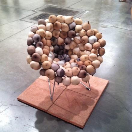 Sarah Lucas, Tit Chair at Sadie Coles HQ, via Daniel Creahan for Art Observed