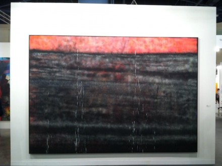 Sterling Ruby at Sprueth Magers, via Daniel Creahan for Art Observed