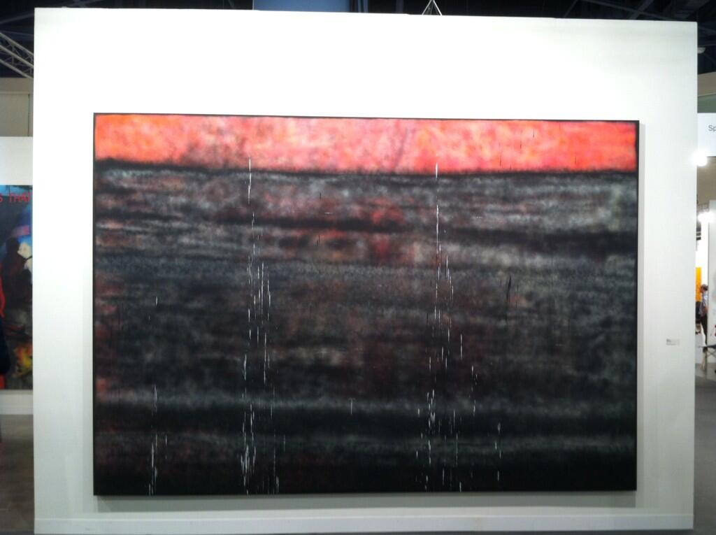 Ao on site summary and photoset art basel miami beach for Sterling ruby paintings