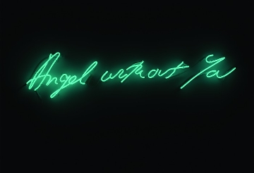 Tracey Emin, Angel Without You, 2013, Museum of Contemporary Art, North Miami 2013