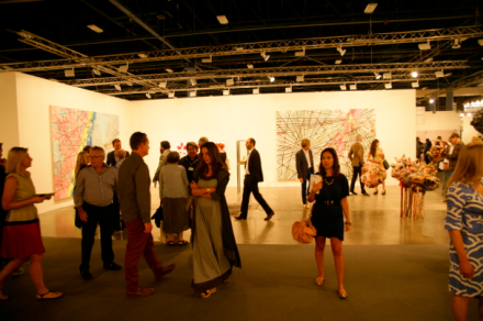 The crowds at Art Basel, via Christian Coleman for Art Observed