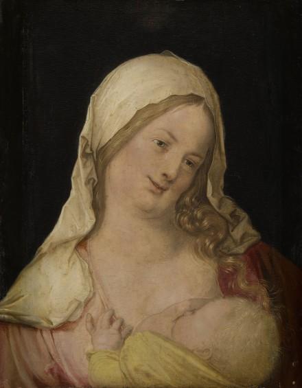 Albrecht Dürer, Maria das Kind stillend (1503), Kunsthistorisches Museum, Wien © Kunsthistorisches Museum, Wien