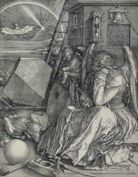 Albrecht Dürer, Melencolia I (Die Melancholie) (1514), Städel Museum, Frankfurt am Main Foto: Städel Museum – ARTOTHEK