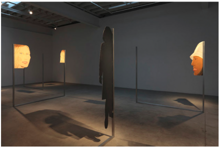 Alex Katz / Dara Friedman (Installation View), all images courtesy Gavin Brown's enterprise