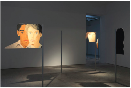 Alex Katz / Dara Friedman (Installation View)