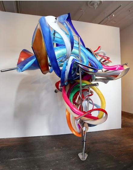 Frank Stella, K.56 (large version) (2013)
