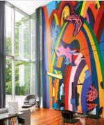Inside the Collectors' Hudson Home, via W