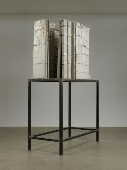 Isa Genzken. Bild (Painting), 1989. Concrete and steel. 103 9/16 x 63 x 30 5/16″ (263 x 160 x 77 cm). The Museum of Modern Art, New York. Gift of Susan and Leonard Feinstein and an anonymous donor. © 2012 The Museum of Modern Art, New York. Photo: Jonathan Muzikar