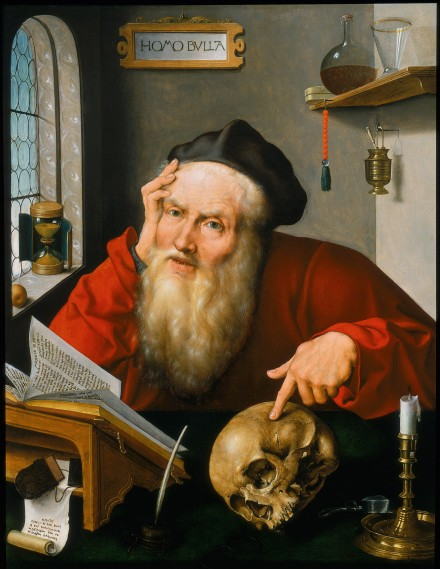 Joos van Cleve, Der heilige Hieronymus im Studierzimmer (1521), © Private Collection, United Kingdom (courtesy Haboldt & Co., Paris)