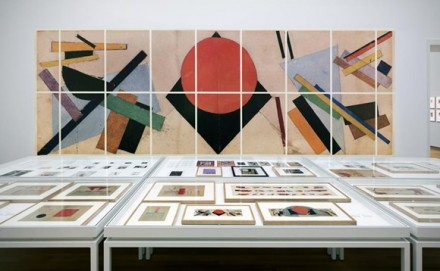 Kazimir Malevich And The Russian Avant-Garde, installation view. Via Stedelijk Museum Photo Gert Jan van Rooij