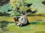"Paul Cezanne, ""A Painter at Work,"" via Denver Post"