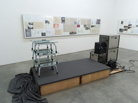 Reinard Mucha, Hidden Tracks (Installation View), via Luhring Augustine