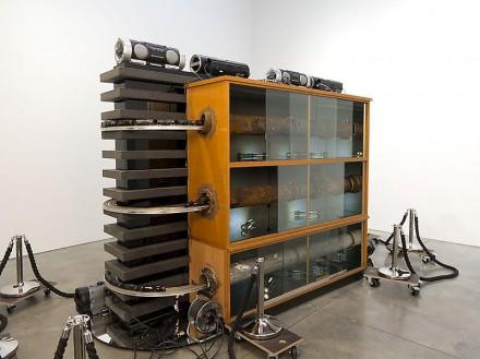 Reinard Mucha, Straight (2013), via Luhring Augustine
