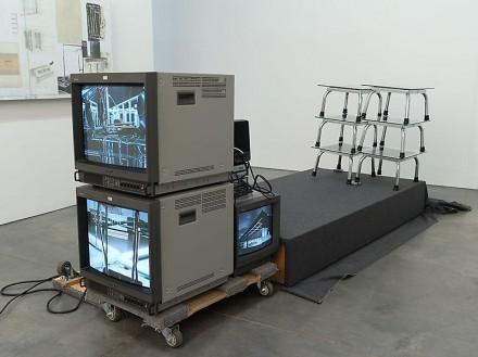 Reinard Mucha, Test Arrangement for Untitled (2013), via Luhring Augustine