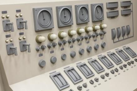 Roxy Paine, Control Room (detail) (2013), via Kavi Gupta