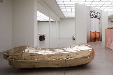 Sarah Lucas, NOB (Installation View), via Secession