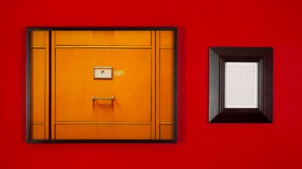 Sophie Calle, Purloined: Lucian Freud, Francis Bacon's Portrait (1998-2013), via Galerie Perrotin