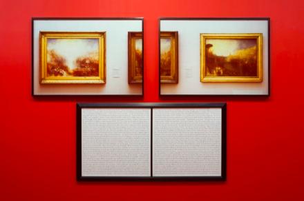Sophie Calle, Purloined  Turner (1998-2013), via Galerie Perrotin