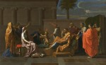 The Infant Moses trampling Pharaoh's Crown, Nicolas Poussin, via Telegraph