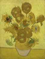 Van Gogh's Sunflowers, 1889. Courtesy of Van Gogh Museum, Amsterdam, via The Guardian