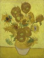 Van Gogh's Sunflowers, 1889. Courtesy of Van Gogh Museum, Amsterdam, via The Guardian