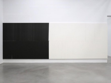 Wade Guyton (Installation View), via Petzel