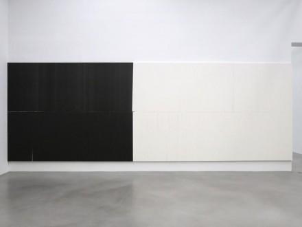 Wade Guyton (Installation View), via Petzel