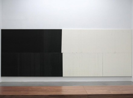 Wade Guyton, (Installation View), via Petzel