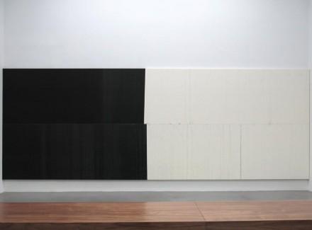 Wade Guyton, (Installation View), via Petzel