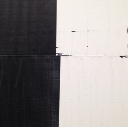 Wade Guyton, (detail), via Art Observed