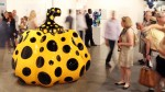 Work by Yayoi Kusama at Art Basel Miami Beach last year, via Financial Times