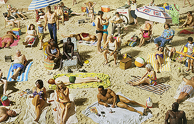 Alex Prager, Crowd # 3 (Pelican Beach), Courtesy of Lehmann Maupin
