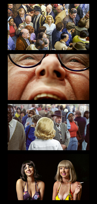Alex Prager, Face in the Crowd Film Strip # 1 (2013), Courtesy of Lehmann Maupin