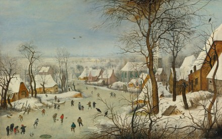 Breughel the Younger, The Bird Trap, via Sotheby's